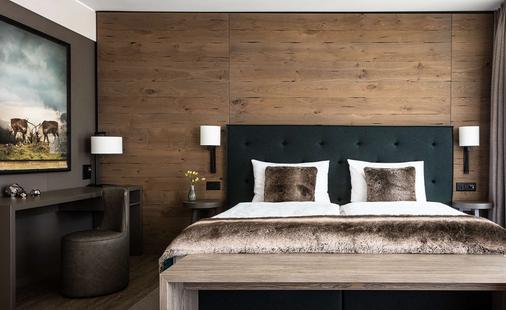 達沃斯阿美隆瑞士山中酒店 - 達弗斯 - 達沃斯 - 臥室