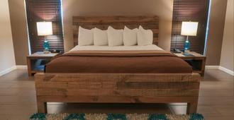 Thunderbird Hotel - לאס וגאס - חדר שינה