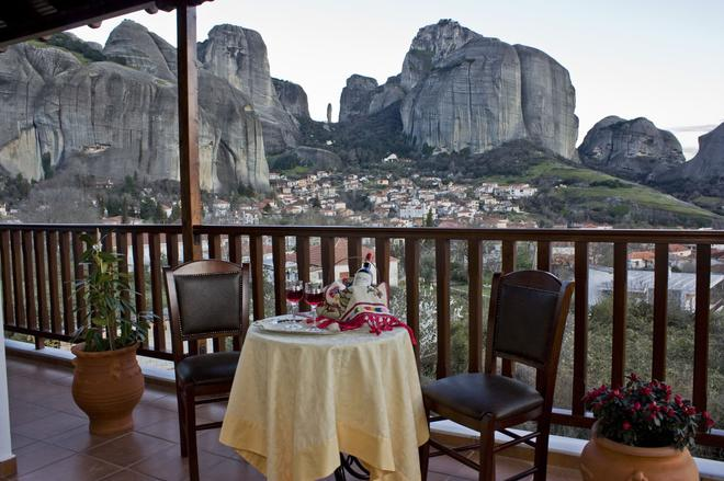 Doupiani House Hotel - Kalabaka - Balkon