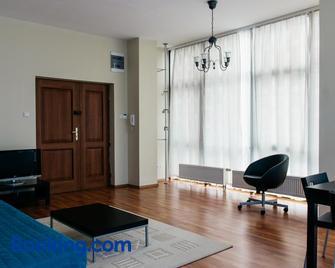 Aparthotel Lofty w piecowni - Włocławek - Living room