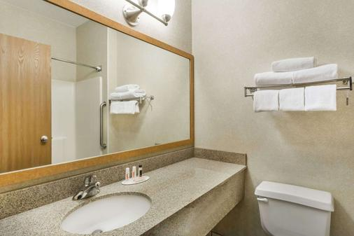 Baymont by Wyndham Billings - Billings - Bathroom
