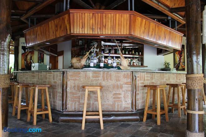 Hotel Chateau St Cloud - La Digue Island - Bar