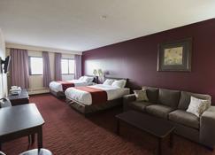 Argyll Plaza Hotel - Edmonton - Bedroom