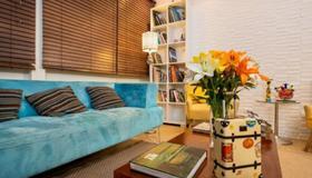 ブラジルロッジ オール スイーツ ホステル - サンパウロ - リビングルーム