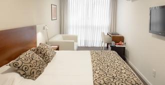 Palm Beach Plaza Hotel - Montevideo - Makuuhuone