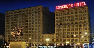 Congress Plaza Hotel - Чикаго - Здание