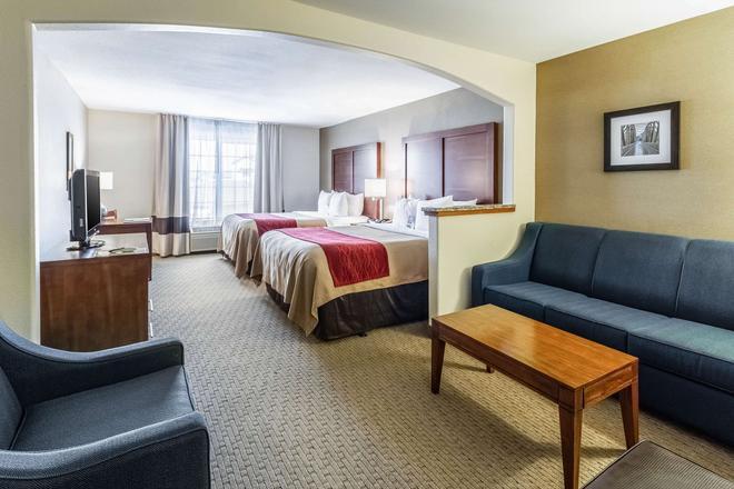 Comfort Inn & Suites - Gillette - Makuuhuone