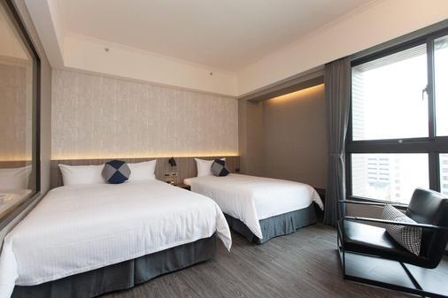 F Hotel Kaohsiung - Cao Hùng - Phòng ngủ