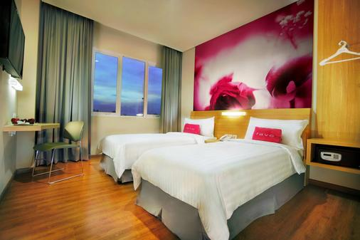 フェイブホテル パサール バル - ジャカルタ - 寝室