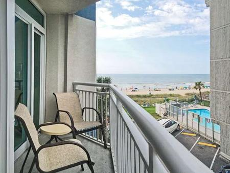 Carolinian Beach Resort - Myrtle Beach - Balcony