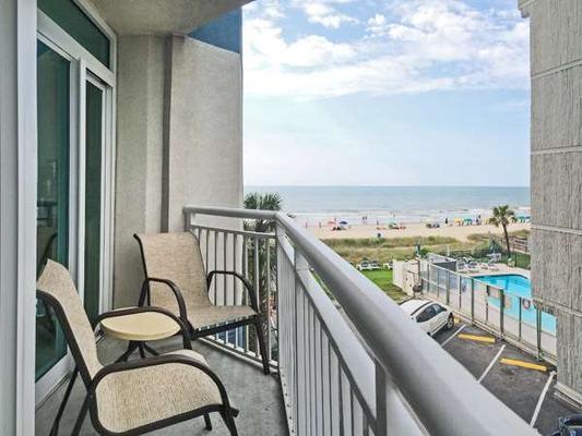Carolinian Beach Resort - Myrtle Beach - Parveke