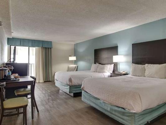 Carolinian Beach Resort - Myrtle Beach - Makuuhuone