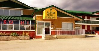 Alpine Lodge Motel - Grande Cache - Edificio
