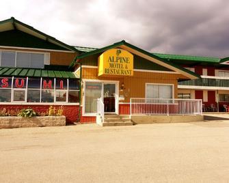 Alpine Lodge Motel - Grande Cache - Gebäude