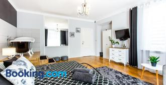 Clicktheflat Apartment Chmielna 7 - Varsovia - Sala de estar