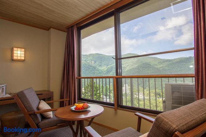 Harriway Hotel Hakone - Hakone - Balcony