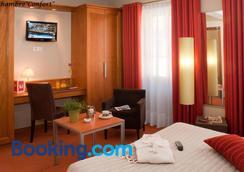 拉普酒店 - 科瑪 - 科爾馬 - 臥室
