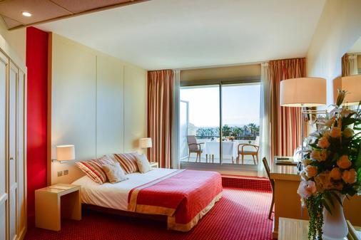 Casino Hotel Des Palmiers - Hyères - Makuuhuone