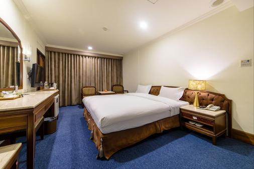 皇爵大飯店 - 嘉義市 - 臥室