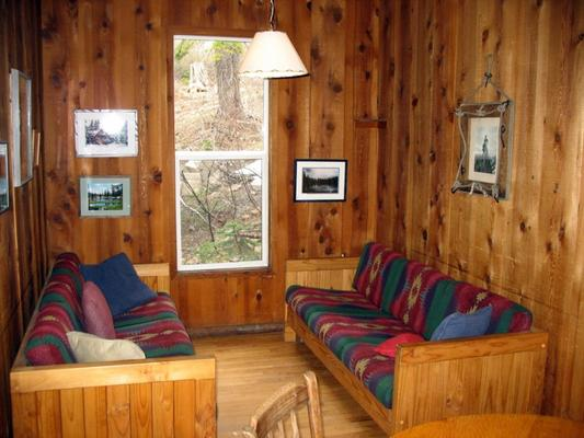 Clair Tappaan Lodge - Norden - Living room