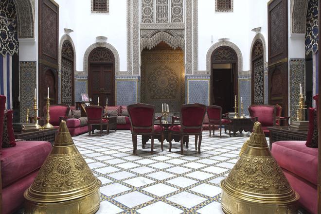 La Maison Bleue Batha - Fez - Lounge