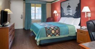 小石城奧特克里克拉昆塔套房酒店 - 小岩城 - 小石城 - 臥室