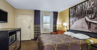 Super 8 by Wyndham Florence - Florence - Bedroom
