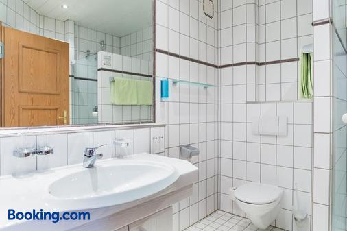 阿爾特斯科奴恩蘭德豪斯酒店 - Massenheim - 法蘭克福 - 浴室