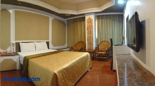 Taoyuan Hua Yue Hotel - Taoyuan - Bedroom