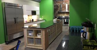 Apple Hostels of Philadelphia - Philadelphia - Phòng bếp