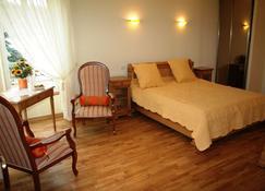 Chambre d'Hôtes Le Val Du Chapelain - Montigny-la-Resle - Bedroom