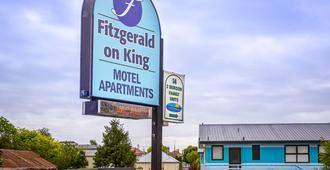 Fitzgerald on King - Timaru - Bina