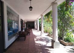 La Chacra de Joel Hotel - Huehuetenango - Patio