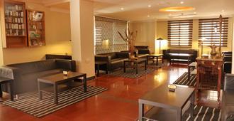 亞喀巴金色鬱金香酒店 - 阿卡巴 - 亞喀巴 - 大廳