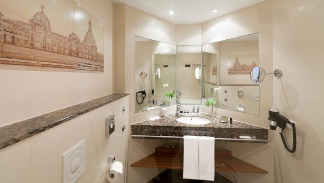 德累斯頓杜瑞特酒店 - 德勒斯登 - 德勒斯登 - 浴室