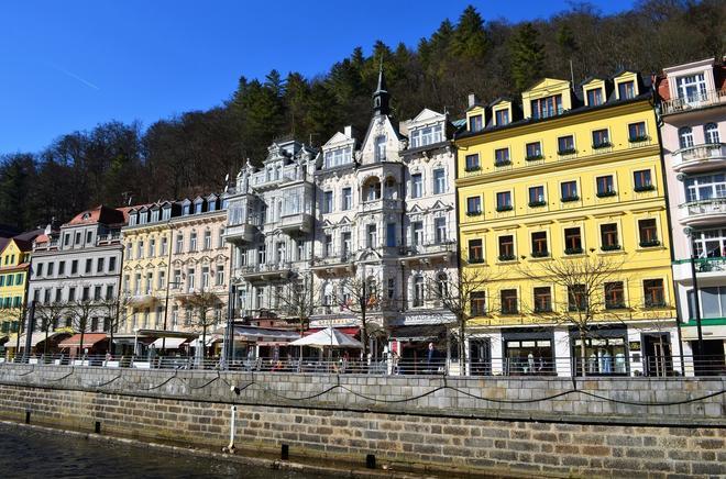 Hotel Palacky - Karlsbad - Gebäude