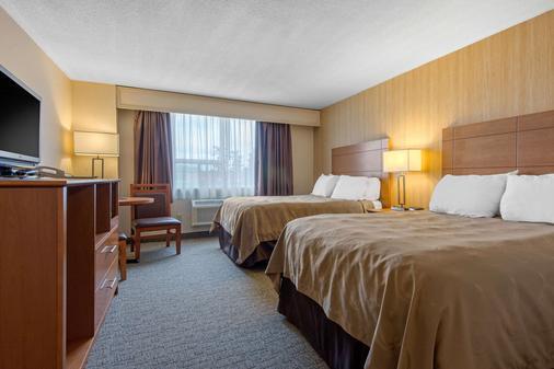 市中心品質酒店及會議中心 - 薩德伯里 - 薩德伯里 - 臥室