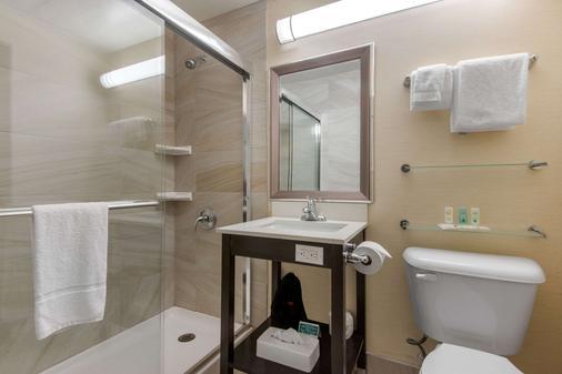 市中心品質酒店及會議中心 - 薩德伯里 - 薩德伯里 - 浴室