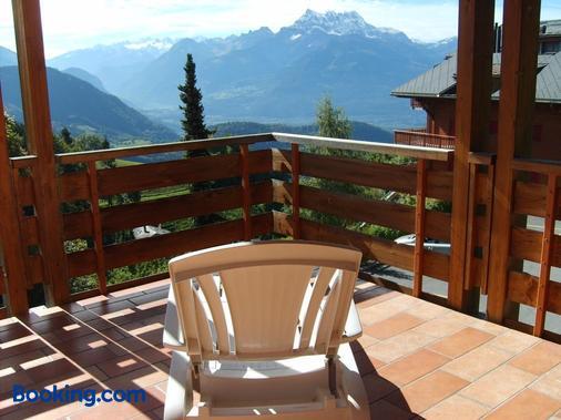 Castel Club Leysin Parc Resort - Leysin - Balcony
