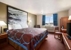 Super 8 by Wyndham Bellingham Airport/Ferndale - Ferndale - Bedroom