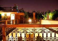 Riad Les Trois Palmiers El Bacha - Marrakech - Parveke