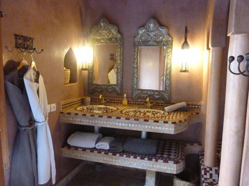 Riad Les Trois Palmiers El Bacha - Marrakech - Kylpyhuone