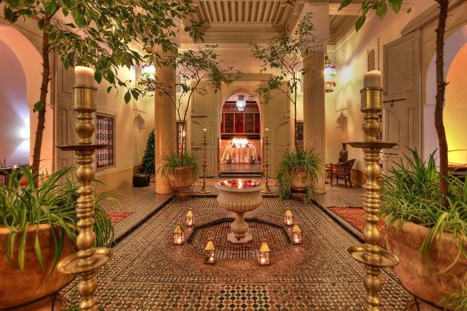 Dar Lalla F'Dila - Marrakesh - Patio