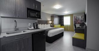 Hotel & Suites Le Dauphin Quebec - Québec City - Bedroom