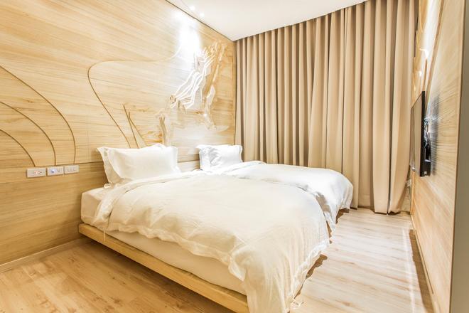 樹屋旅店 - 高雄市 - 臥室