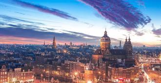 阿姆斯特丹中心宜必思酒店 - 阿姆斯特丹 - 室外景