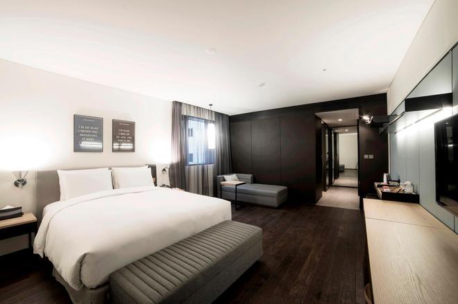 汝矣島格蘭德飯店 - 首爾 - 臥室