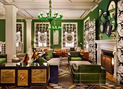 摩納哥華盛頓特區金普頓酒店 - 華盛頓 - 休閒室