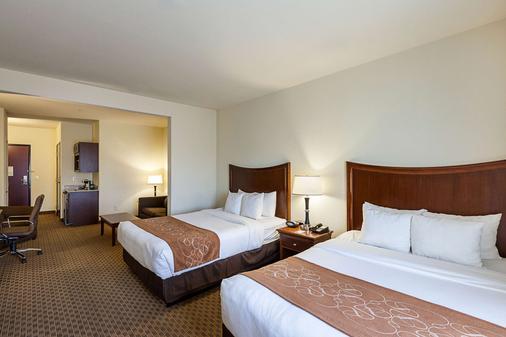 Comfort Suites San Antonio North - Stone Oak - San Antonio - Bedroom