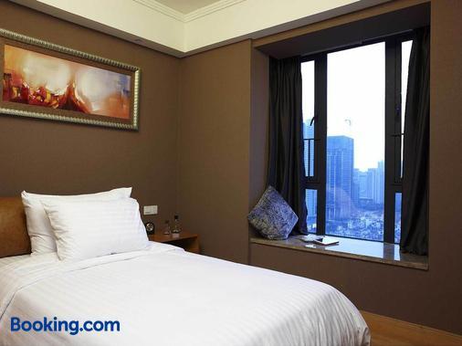 廣州丹頓行政公寓 - 廣州 - 臥室